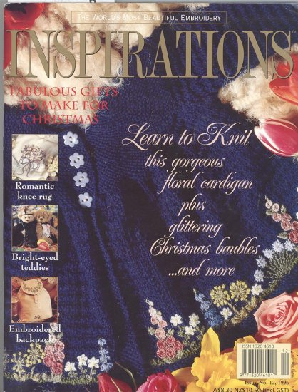 Inspirations Embroidery Magazine Issue 12 1996