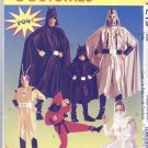 Super Hero Boys and Girls Costumes Sewing Pattern McCall's P219