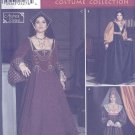 Andrea Schewe Women's Renaissance Costume and Hats Sewing Pattern Simplicity 9929