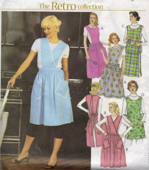 McCall's Patterns M5284 Aprons, All Sizes