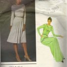 Vogue 2718 Belinda Bellville Asymmetrical  Dress Vogue Vintage Sewing Pattern