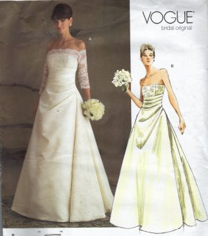 CROCHETED WEDDING GOWN PATTERNS | Crochet and Knitting Patterns