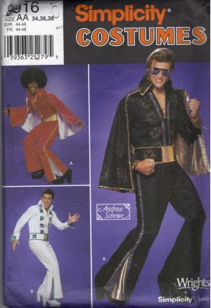 Costume Elvis Pattern Presley « Gold Patterns. Free Patterns