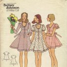 Betsey Johnson Butterick 6978 1970s Sewing Pattern