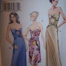Strapless Bra Dress Vogue Sewing Pattern 8074