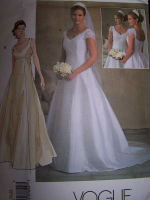 Vogue 2788 Bridal Original Sewing Pattern Sizes 18, 20, 22