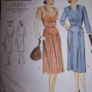 Vogue Vintage Original 2322 1943 Design Dress Sewing Pattern sizes 12-16