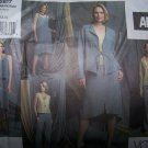 Adri Jacket, Top, Pants & Skirt Vogue Sewing Pattern 2817 sizes 6-8-10