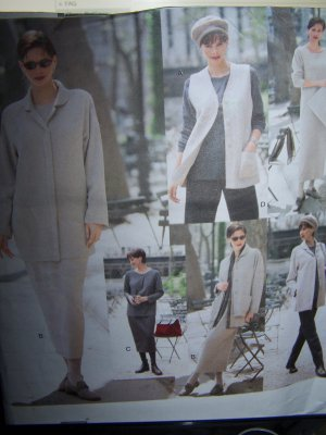 Vogue Sewing Pattern 2194 sizes 14-18 Five Easy Pieces