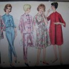 1962  Vintage Vogue  Sewing Pattern 5412 Robe & Pajamas