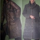 Vogue  Sewing Pattern 2868 Koors Couture Coat, Hat, Scarf