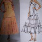 Vogue 1165 Sewing Pattern DKNY Top & Skirt 18-22