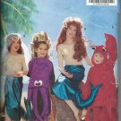 Butterick Costume Pattern 5597 Ariel Under the Sea Sizes 4-14