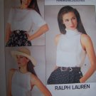 Vogue Sewing Pattern 1724 Ralph Lauren Blouses Size 12