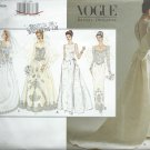 Vogue Bridal Original Sewing Pattern 1325 Bridal Gown 18-22