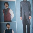 Men's  Civil War Day Coat  Butterick History Sewing Pattern 3721