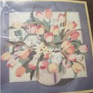 Crewel Embroidery Kit Tulip bouquet 1975  Sunset Designs Nancy Rossi