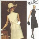 1970's Vogue Couturier Design Sewing Pattern 2439 A Line Dress Valentino