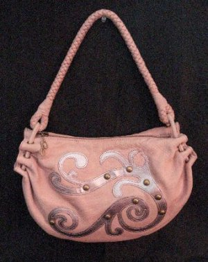 Authentic JLo Rose Colored Fairy Tale Hobo Handbag