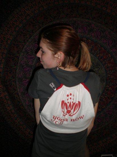 """Small """"Yoga"""" T-Shirt Bag"""