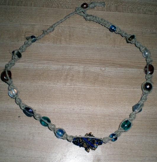 Hand Crafted Sea Bead Necklace