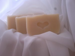 3 bars of Spicey Bay Rum Coconut Milk Soap