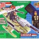 G.I. Joe vs Cobra LOCUST w Hollow Point - New BTR # 6502 + FS