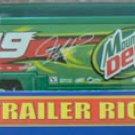 Nascar Jeremy Mayfield Die Cast Trailer Rig #19 Mt Dew 1/64 NIB - 2002 - FREE SHIPPING!