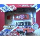 The Dukes of Hazzard - 1969 Charger General Lee Diecast 1:64 Scale Model Kit NIB 2001 + FREE SHIP!