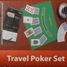 6 PC Travel Poker Set - NIB & GIFT WRAPPED!