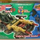 G.I. Joe vs Cobra Cobra Sand Snake w/ Firefly - New BTR # 6593 + FS