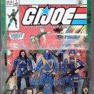 GI Joe 3 Pack + #1 Comic Reprint Cobra Commander+Baroness+Cobra Trooper - MOC + FS