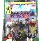 GI Joe 3 Pack + #2 Comic Reprint Snake Eyes + Scarlett + Tracker Kwinn - MOSC HTF RARE