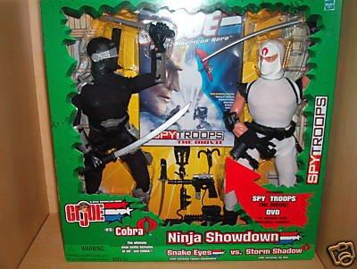 gi joe 12quot ninja showdown snake eyes vs storm shadow
