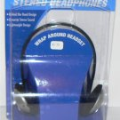 BEHIND THE HEAD STEREO HEADPHONES for IPOD MP3 CD 3.5mm - NEW + FREE SHIPPING!