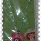 Strawberry Shortcake Beaded Blue Necklace With Pendant - NIP & FREE SHIPPING