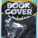 "IT'S STRETCHABLE & WASHABLE BLACK BOOK COVER 12 3/4"" X 6 3/4""  - NIP & FREE SHIPPING"