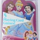 Disney PRINCESS Playing Card Games Bicycle - NIP & FREE SHIPPING