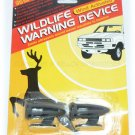 Wildlife Warning Device - Wind Activated @ 35MPH Deer Dog Chaser - NIP & FREE SHIPPING