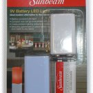 Sunbeam 9V Battery LED Light - Blue - NIP & FREE SHIPPING