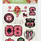 Strawberry Shortcake Sheet of Temporary Tattoos - NIP & FREE SHIPPING!