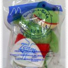 2006 McDonalds Happy Meal Toy Build A Bear #7 Friendly Frog In Baseball Jersey - NIP & FREE SHIPPING