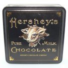 Hershey's Pure Milk Chocolate Collector Tin *Used Vintage* - FREE SHIPPING