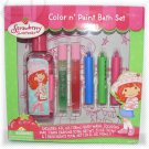 Strawberry Shortcake Color n Paint Bath Set - NIB & FREE SHIPPING
