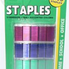 3000/PK Color Staples Stardard Size 26/6 - RED BLUE GREEN - NIP + FREE SHIPPING