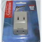 Sunbeam 3 Outlet Wall Tap - Power Extension - NIP & FREE SHIPPING