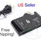 24 in 1 Card Reader Plug & Play Writer USB 2.0 1.0 + FREE SHIPPING