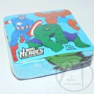 MARVEL COMICS MARVEL HEROS MAGIC TOWEL CAPT AMERICA HULK THE THING - NIP + FREE SHIPPING