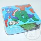 MARVEL COMICS MARVEL HEROS MAGIC TOWEL CAPT AMERICA HULK THE THING - NIP + FREE SHIPPING