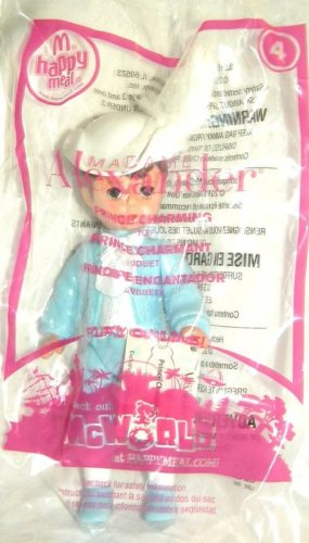 2010 McDonalds Happy Meal Toy Madame Alexander #4 Prince Charming - NIP & FREE SHIPPING